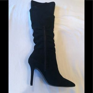 CHARLES BY CHARLES DAVID Microsuede Muller Boots